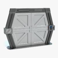 sci-fi door 3ds