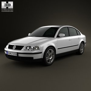 sedan volkswagen passat 3ds