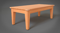 table simple 3d max