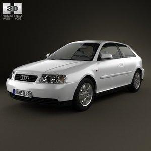 2003 3 door 3d max