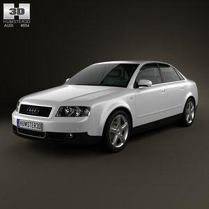 sedan 2002 4 3d model