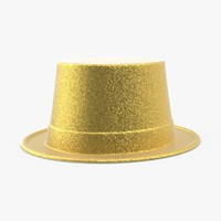 party hat 02 gold max