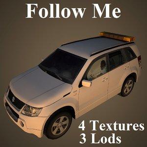 3d model of follow suzuki kuwait