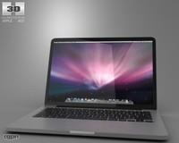 3d model 13 inch apple