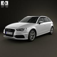3d car s