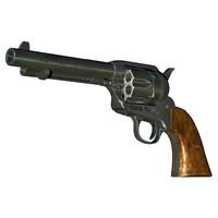 3d colt 45 peacemaker model