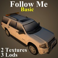 follow basic 3d model
