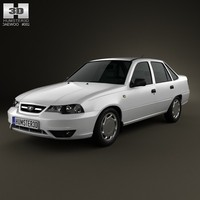 2012 cielo daewoo 3d model