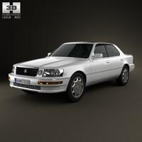 3d 1989 lexus ls model