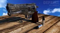 3d model weapon 38