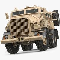 truck military sand casspir max