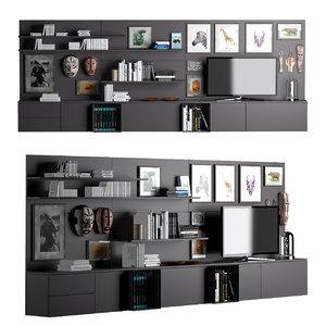 rack cabinet 3d max