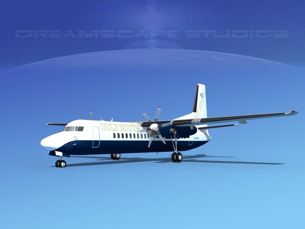3ds propellers fokker 50
