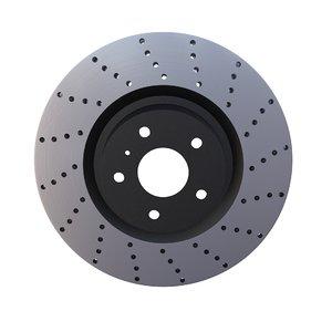 3d sport ventilated brake disk