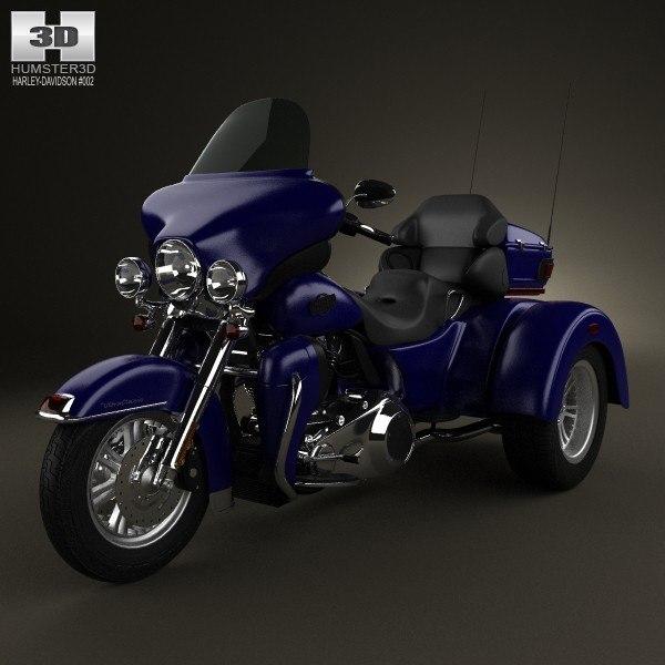 2012 classic davidson 3d model