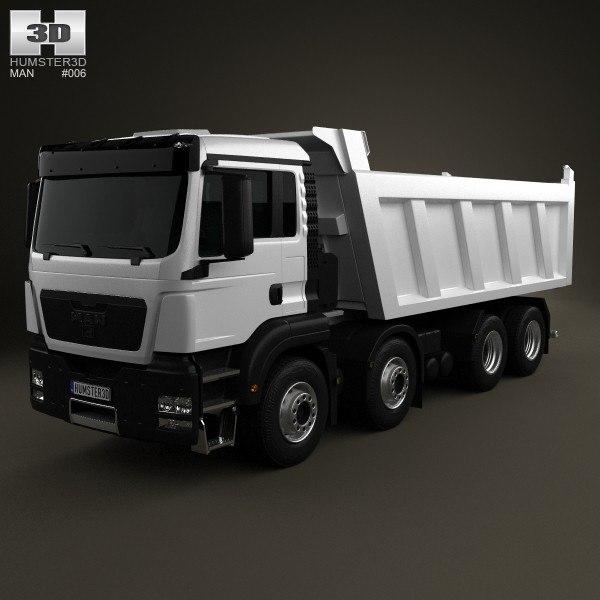 2012 man tgs 3d model