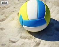 volleyball ball 3d 3ds