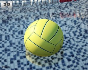 lwo water polo ball