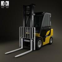 2012 35vx forklift 3d model