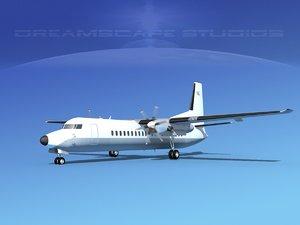 3d propellers fokker 50