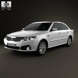 car 2008 3d c4d
