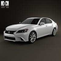 3d model 2012 f gs