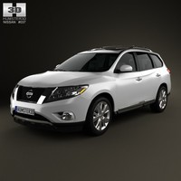 Nissan Pathfinder with HQ interior 2013