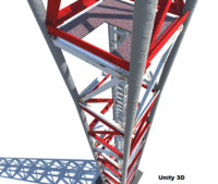 tower antenna 3d model