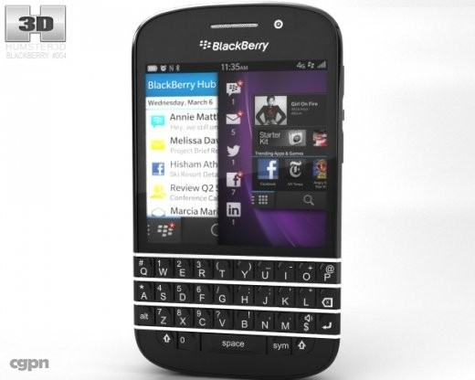 max blackberry q10 q