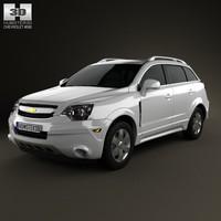3d model of car 2008 5