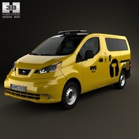 Nissan NV200 New York Taxi 2014