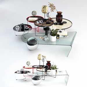 set coffee tables italia max