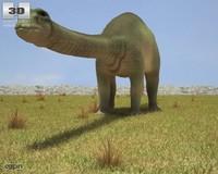 apatosaurus 3d c4d