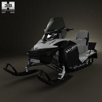 brp ski doo 3d model