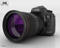 5 5d canon 3d model
