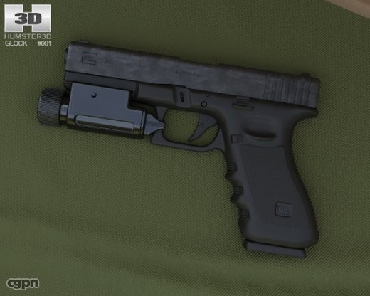 3d 17 flashlight glock model
