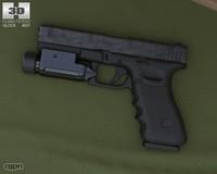 3d 17 flashlight glock model