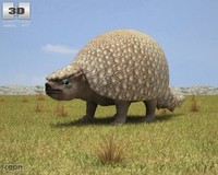 glyptodon 3d 3ds