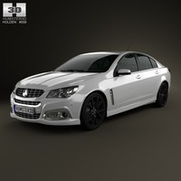 2013 calais commodore 3d model