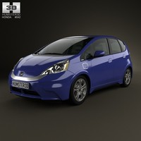 Honda Fit (Jazz) EV 2013