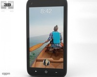 3d model facebook htc phone