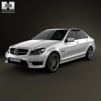 Mercedes-Benz C-Class 63 AMG sedan 2012
