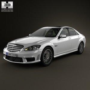 3d model 2012 65 amg