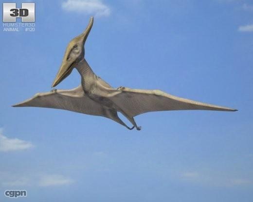 longiceps pteranodon 3ds