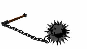 spiked ball mace 3ds