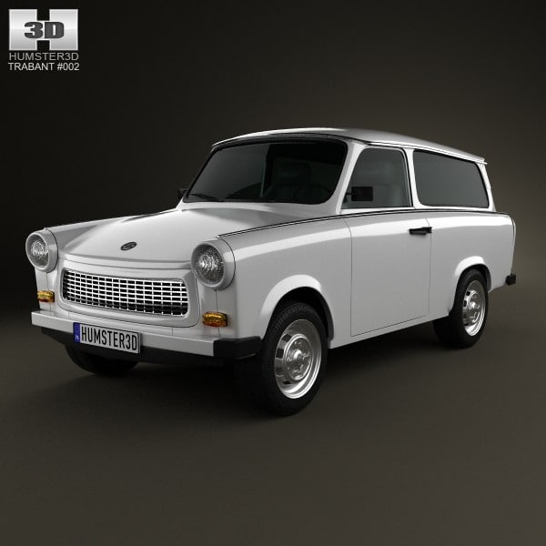 3d 1965 601 kombi model