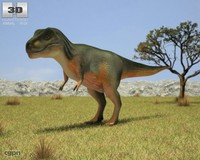 animals dinosaurs 3d model