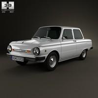 3d model 1979 968 968m