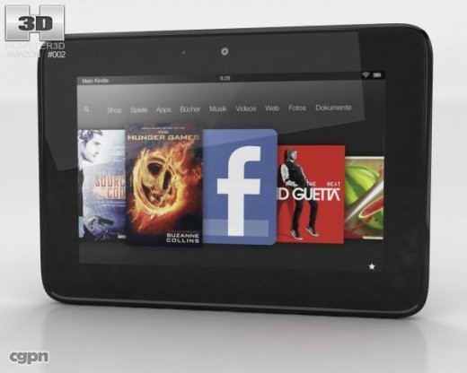 3ds 7 amazon kindle