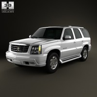 2002 cadillac escalade 3d model